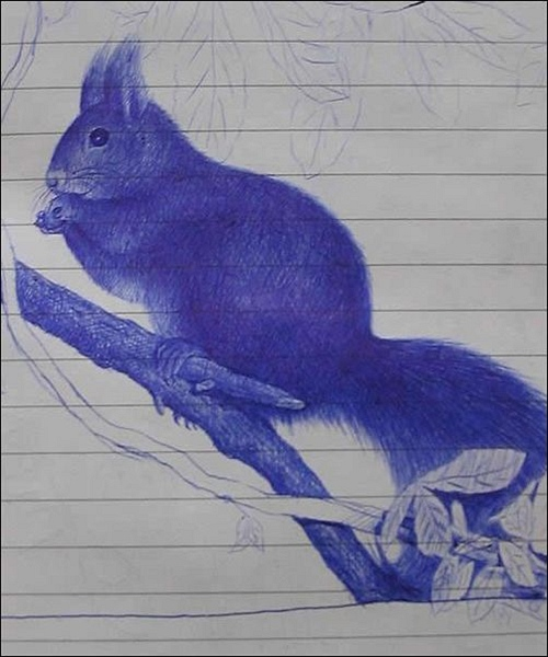 效果图:铅笔素描画、水墨画、还有电脑绘制画我们都比较常